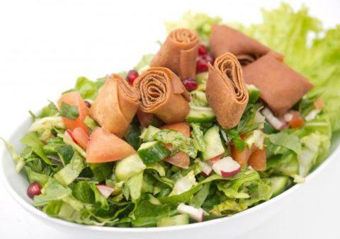 Trei salate hranitoare, in stil libanez
