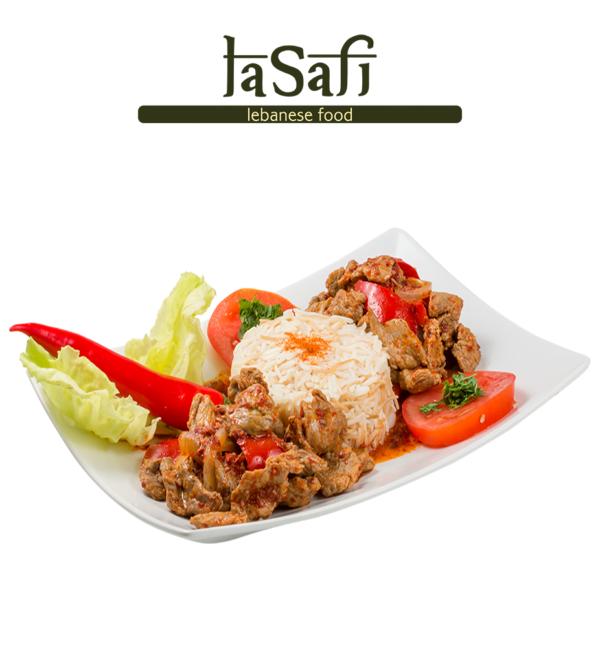 khodra-bel-lahme-harra restaurant libanez lasafi